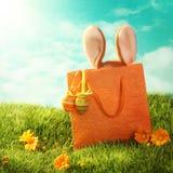 Presente di Pasqua Fotografia Stock