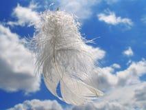 Presente do anjo Fotografia de Stock Royalty Free