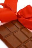 Presente do chocolate do Xmas imagens de stock royalty free