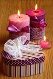 Presente do coração do dia de Valentim - foto de Stocl Imagem de Stock