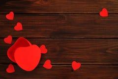 Presente do dia de Valentim Imagens de Stock Royalty Free
