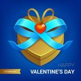 Presente do dia de Valentim Foto de Stock Royalty Free