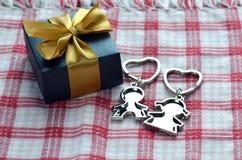Presente do dia do Valentim fotos de stock