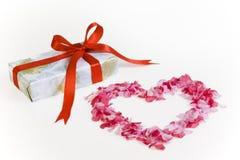Presente do dia dos Valentim Foto de Stock Royalty Free