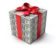 Presente do dinheiro ilustração royalty free