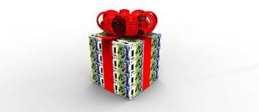 Presente do dinheiro Foto de Stock