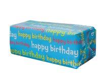 Presente do feliz aniversario Imagens de Stock