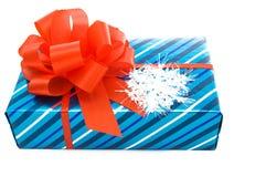 Presente do Natal. imagem de stock