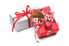 Presente do Natal Foto de Stock Royalty Free