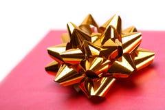 Presente do Natal Fotografia de Stock