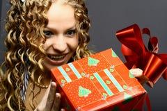 Presente do Natal Foto de Stock Royalty Free