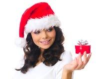 Presente do Natal Imagens de Stock Royalty Free