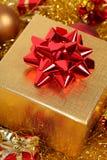 Presente do Natal Foto de Stock