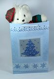 Presente do Natal para uma criança Foto de Stock