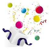 Presente do partido Imagens de Stock Royalty Free
