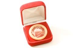 Presente do preservativo Imagem de Stock