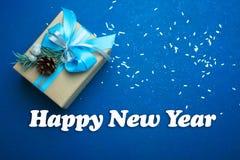 Presente do ` s do ano novo Imagem de Stock