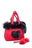 Presente do Valentim da roupa interior e do brinquedo Imagem de Stock Royalty Free