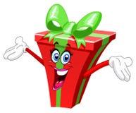 Presente dos desenhos animados Imagem de Stock