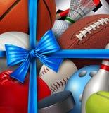 Presente dos esportes ilustração do vetor