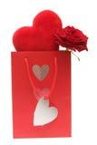 Presente dos Valentim Imagem de Stock Royalty Free
