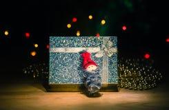 Presente e brinquedo Santa Foto de Stock