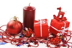 Presente e decorazioni Immagine Stock