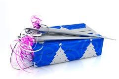 Presente envuelto lujo imágenes de archivo libres de regalías