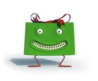 Presente feliz Imagens de Stock