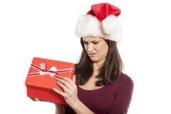 Presente indesejável do Natal fotografia de stock