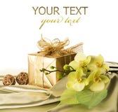 Presente para o st. Dia do Valentim Imagens de Stock Royalty Free