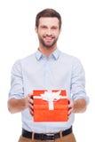 Presente para você! Fotografia de Stock Royalty Free