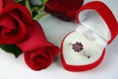 Presente romântico Imagens de Stock Royalty Free