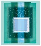Presente verde Imágenes de archivo libres de regalías