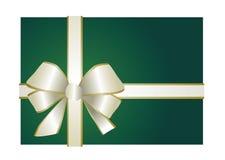Presente verde Fotos de Stock