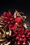 Presente vermelho Fotografia de Stock Royalty Free