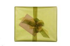 Presente y tarjeta Imagen de archivo