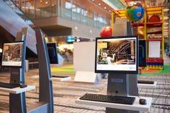 Presentemente, o aeroporto teve três terminais operacionais Fotos de Stock