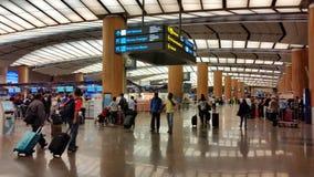 Presentemente, o aeroporto teve três terminais operacionais Imagens de Stock
