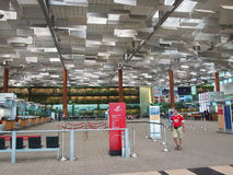 Presentemente, o aeroporto teve três terminais operacionais Fotos de Stock Royalty Free