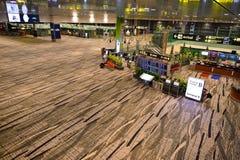 Presentemente, o aeroporto teve três terminais operacionais Fotografia de Stock