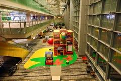 Presentemente, o aeroporto teve três terminais operacionais Imagem de Stock Royalty Free