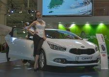 KIA Ceed car model on display Royalty Free Stock Photos