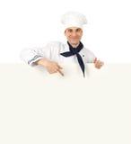 presentera för kock Arkivfoton