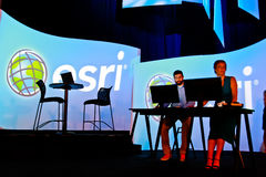 Presenters at the ESRI User Conference 2010 Stock Photography
