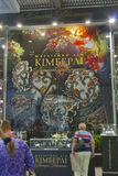 Presenters of Kimberli Jeweller House booth Stock Images