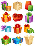 Presentes Imagens de Stock Royalty Free