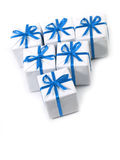 Presentes Imagem de Stock Royalty Free