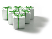 Presentes Fotografia de Stock Royalty Free