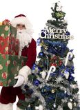 Presentes 5 de Santa Foto de Stock